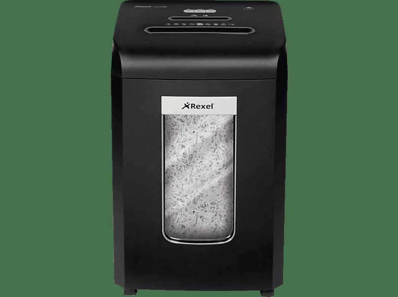 REXEL Promax RSX1538 Manueller Aktenvernichter mit innovativer Ventilator-Kühltechnologie, Schwarz