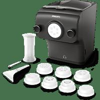 PHILIPS Pastamaker HR2382/15 mit 8 Formen und Wiegefunktion in kaschmir-grau