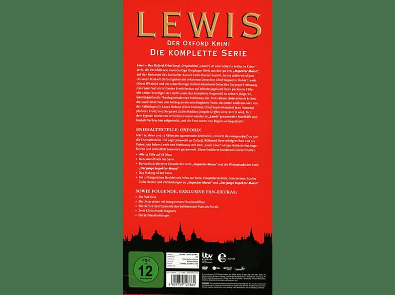 - Lewis - Der Oxford Krimi Gesamtbox [DVD]