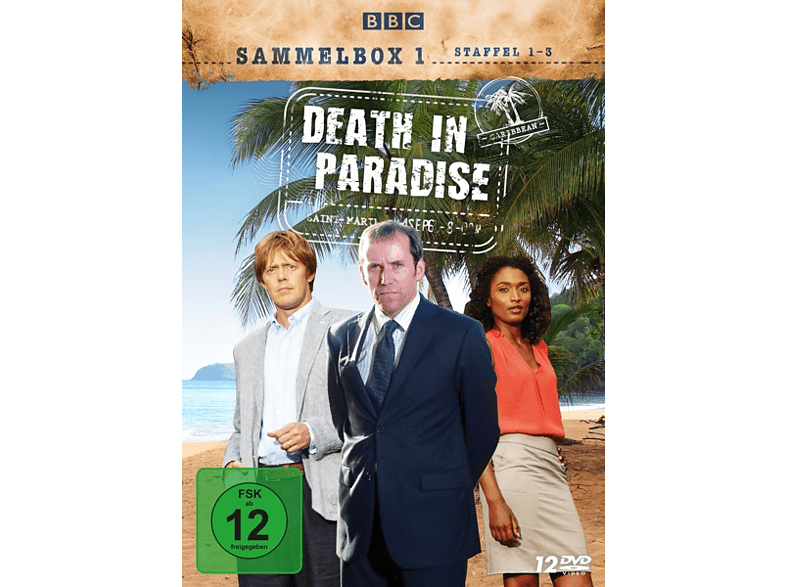 Death in Paradise Sammelbox 1 Staffel 1-3 [DVD]