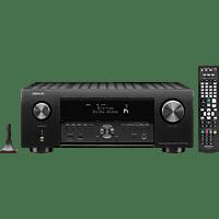 DENON AVR-X4500H AV-Receiver (9.2 Kanäle, 200 Watt pro Kanal, Schwarz)
