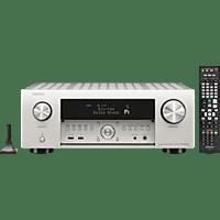 DENON AVR-X4500H AV-Receiver (11.2 Kanäle, 200 Watt pro Kanal, Silbergold)