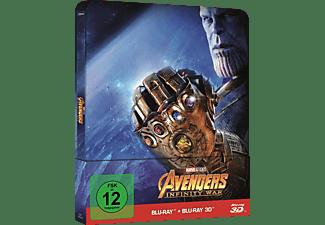 Avengers: Infinity War (Steelbook) 3D Blu-ray (+2D)