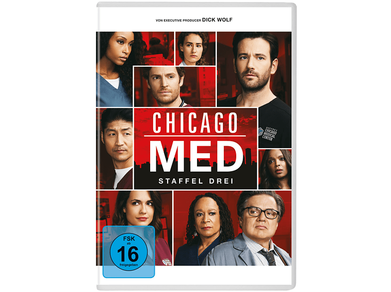Chicago Med-Staffel 3 [DVD]