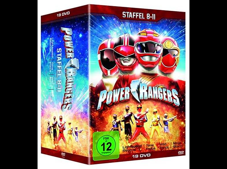 Power Rangers (8-11) [DVD]