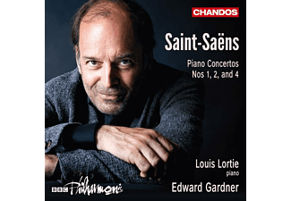 BBC Philharmonic, Louis Lortie - Piano Concertos Nos. 1, 2, and 4  - (CD)