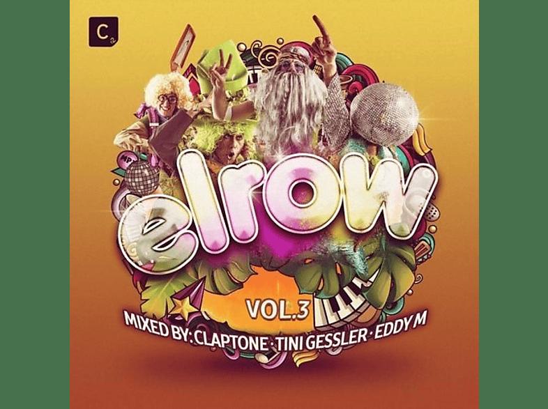 VARIOUS - Elrow Vol.3-Mix By Claptone/Tini Gessler/Eddy M [CD]