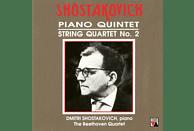 The Beethoven String Quartet - Klavierquintett op.57/Streichquartett 2 [CD]