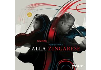 Civitas Ensemble, GIPSY WAY ENSEMBLE - Alla Zingarese  - (CD)