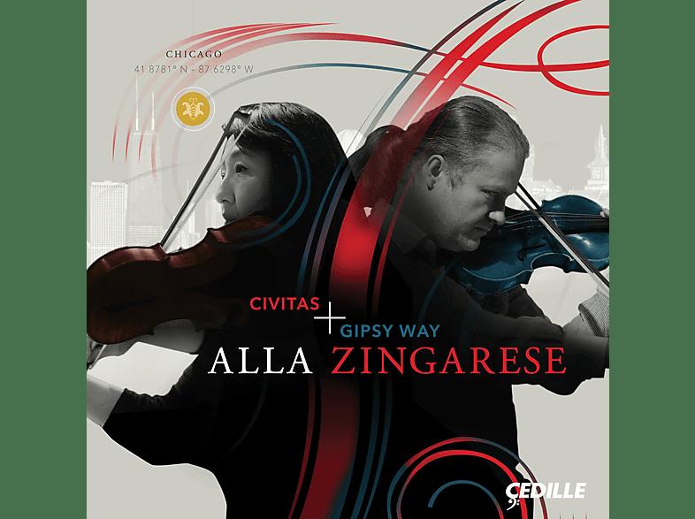 Civitas Ensemble, GIPSY WAY ENSEMBLE - Alla Zingarese [CD]