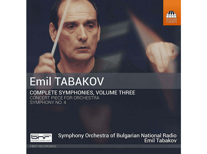 Symphony Orchestra Of The Bulgarian National Radio - Sämtliche Sinfonien Vol.3 [CD]