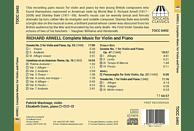 Patrick Wastnage, Elizabeth Dunn - Sämtliche Werke für Violine un [CD]