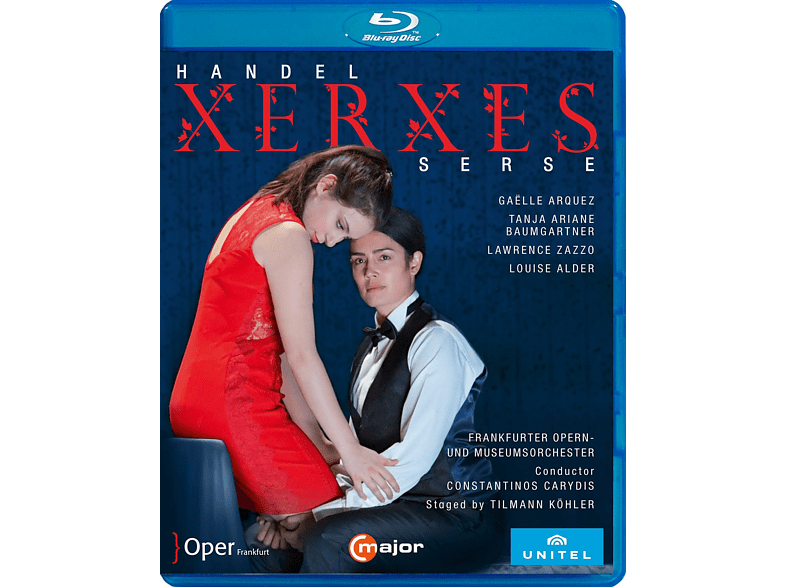 Arquez / Zazzo / Carydis / Frankf. Opern-& Museumsorch. - Xerxes [Blu-ray]