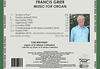 Tom Winpenny - Musik für Orgel  - (CD)