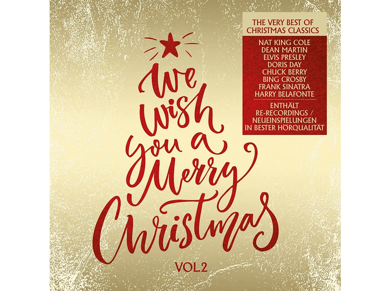 VARIOUS - We Wish You A Merry Christmas Vol.2 The Very Best [CD]