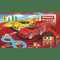 CARRERA (TOYS) First Ferrari Rennbahn, Mehrfarbig