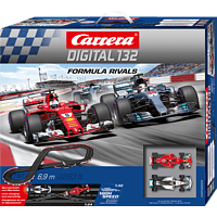 CARRERA (TOYS) Digital 132 Formula Rivals Rennbahn, Mehrfarbig