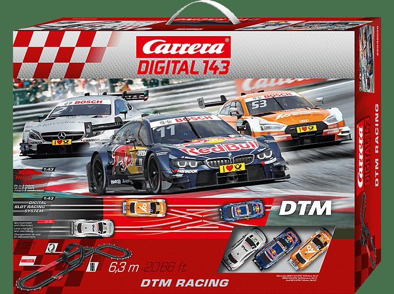 CARRERA (TOYS) DTM Racing Rennbahn, Mehrfarbig