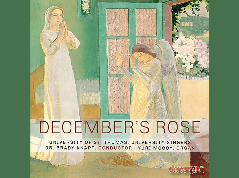 Yuri McCoy, The University Singers - December's Rose [CD]