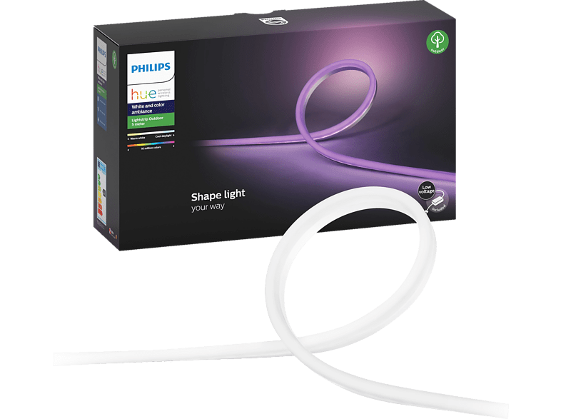 PHILIPS Hue White and Color Ambiance LED Streifen, transparent