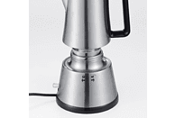 CLOER 5918 Espressokocher Edelstahl/Schwarz
