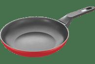 BERNDES 0006640124 HOT CHILI RED BRATPF 24CM Bratpfanne (Aluminium, Beschichtung: Sonstige Beschichtung, 240 mm)