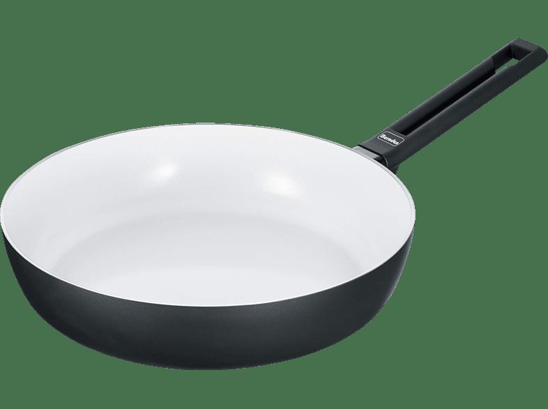 BERNDES 013325 ALU IND SMART SCHMORPFANNE 24CM Schmorpfanne (Aluminium, Beschichtung: Keramik, 240 mm)