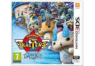 3DS - Yo-Kai Watch Blasters : L'Escadron du Chien Blanc /F