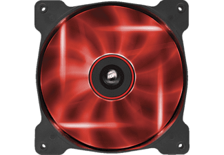 CORSAIR Ventilateur PC LED Quiet Edition AF140 Rouge (CO-9050017-RLED)