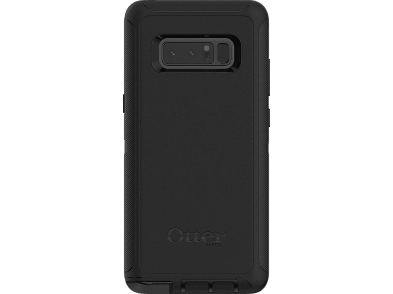 OTTERBOX 77-55901 , Backcover, Samsung, Galaxy Note 8, Kunststoff, Schwarz
