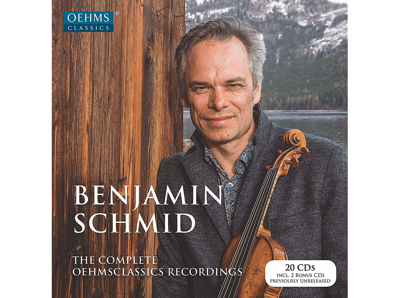 Benjamin Schmid - The Complete Oehmsclassics Recordings [CD]