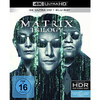 Matrix Trilogie – Exklusivedition mit 9 Discs  [4K Ultra HD Blu-ray + Blu-ray]
