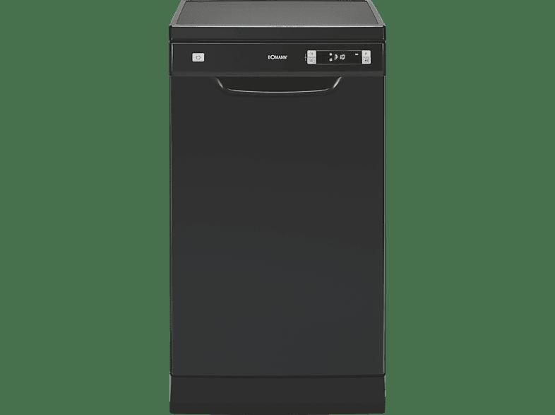 BOMANN GSP 863  Geschirrspüler (freistehend, 450 mm breit, 49 dB (A), A++)