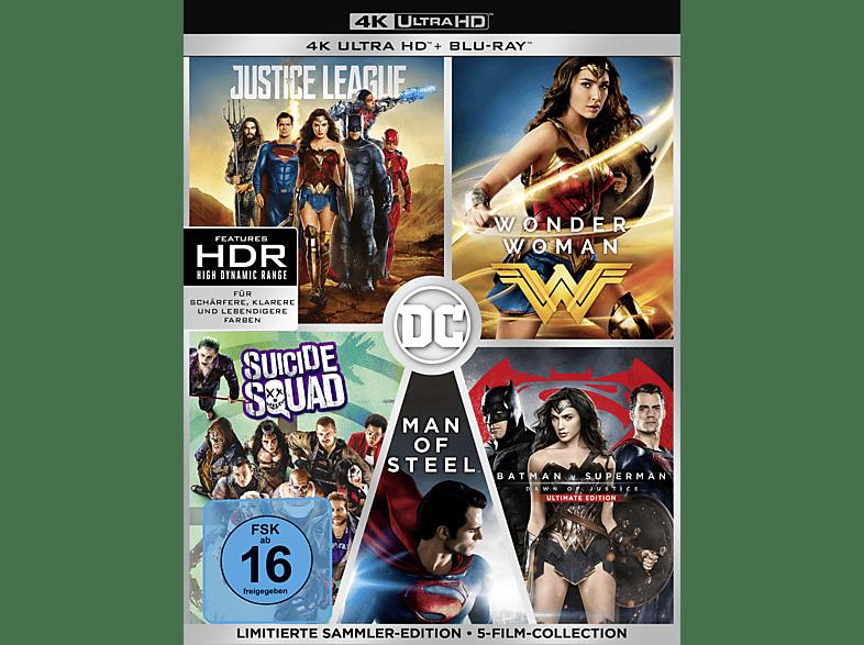 DC 5-Film Collection (Limitierte Exklusivedition) (10 Discs) [4K Ultra HD Blu-ray + Blu-ray]