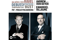 Andrew Van Oeyen, Prague Philharmonia, Emmanuel Villaume - Ma Mère l'Oye/Fantasie für Klavier & Orchester L.7 [CD]