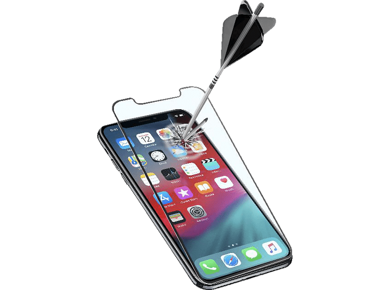 CELLULAR LINE CAPSULE Displayschutzglas (Apple iPhone XS Max)
