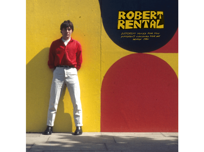 Robert Rental - Different Voices For You.Different Colours For Me  - [Vinyl]