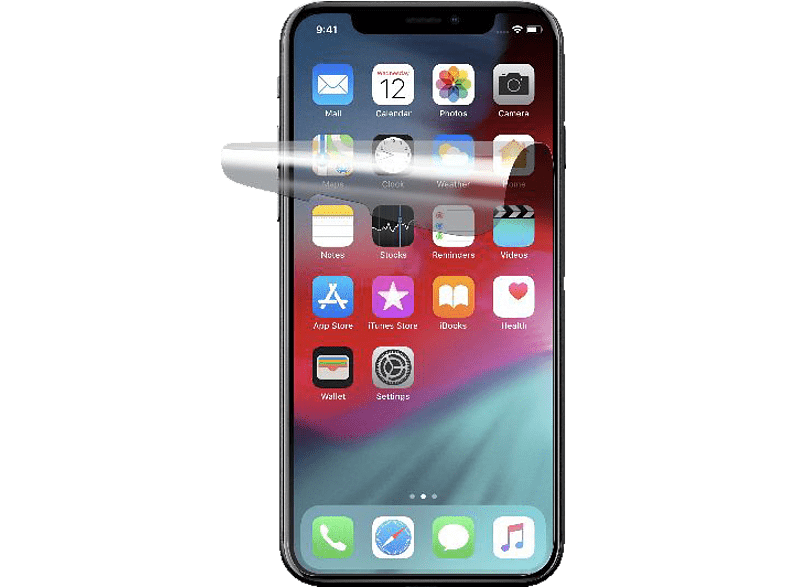 CELLULAR LINE Anti Spiegel Displayschutzfolie (Apple iPhone XS Max)