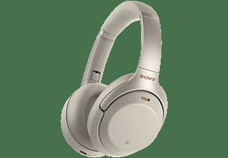 SONY Draadloze hoofdtelefoon Noise Cancelling NFC Zilver