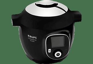 KRUPS CZ7158 Cook4Me+ Connect Multikocher Schwarz/Grau (Rührschüsselkapazität: 6 Liter, 1600 Watt)