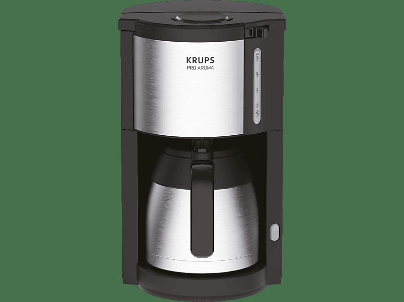 KRUPS KM305D ProAroma Kaffeemaschine Schwarz/Edelstahl