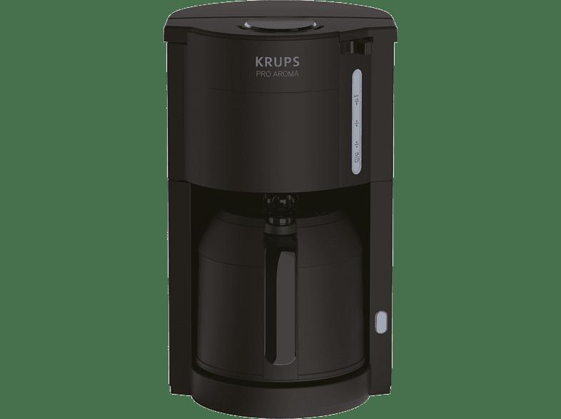 KRUPS KM3038 ProAroma Kaffeemaschine Schwarz