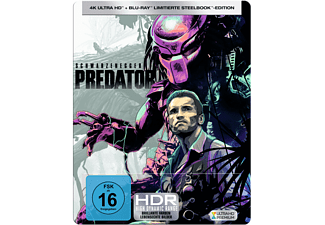 Predator (Limited Steelbook) 4K Ultra HD Blu-ray + Blu-ray