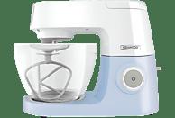 KENWOOD KVC5100B Chef Sense Colour Collection Küchenmaschine Weiß/Pastellblau (Rührschüsselkapazität: 4,6 Liter, 1200 Watt)