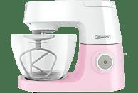 KENWOOD KVC5100P Chef Sense Colour Collection Küchenmaschine Weiß/Pastellpink (Rührschüsselkapazität: 4,6 Liter, 1200 Watt)