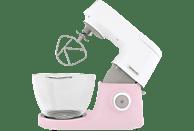 KENWOOD KVC5100P Chef Sense Colour Collection Küchenmaschine Weiß/Pastellpink 1200 Watt