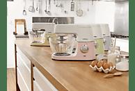 KENWOOD KVC5100Y Chef Sense Colour Collection Küchenmaschine Weiß/Pastellgelb 1200 Watt
