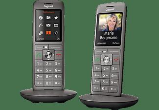 GIGASET CL660 HX DUO Schnurloses Telefon, Anthrazit/Schwarz