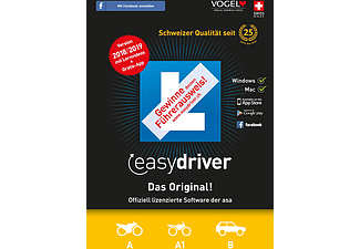 PC/Mac - easydriver 2018/19 (Kat. A/A1/B) /Multilingue