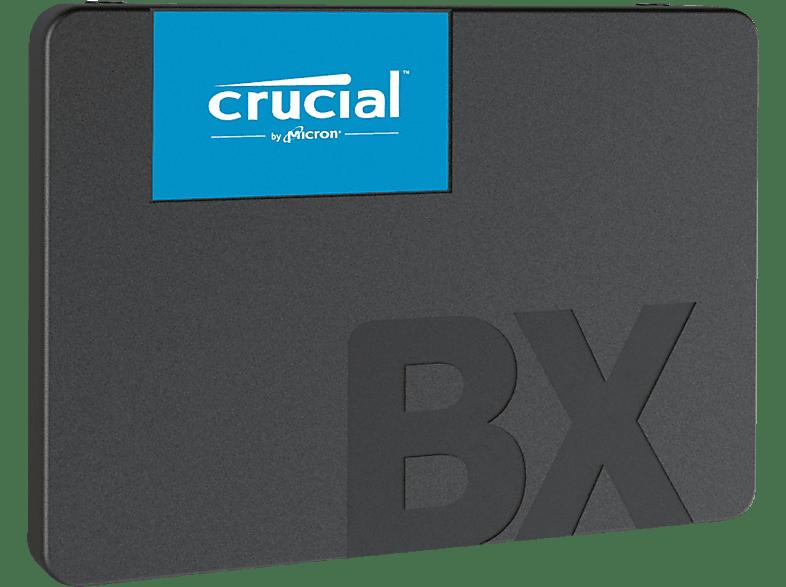CRUCIAL BX500, 480 GB SSD, 2.5 Zoll, intern
